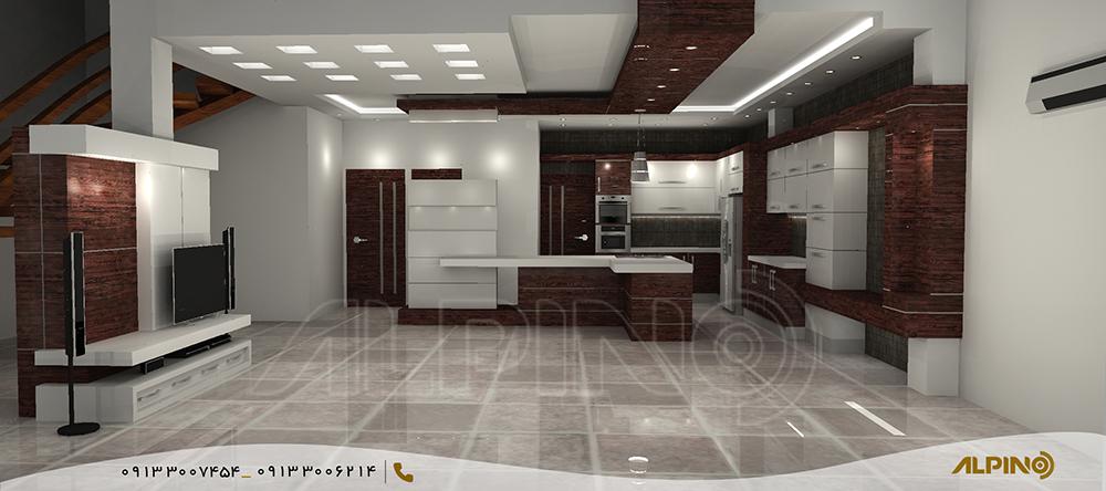 طراحی سه بعدی دکوراسیون داخلی در اصفهان