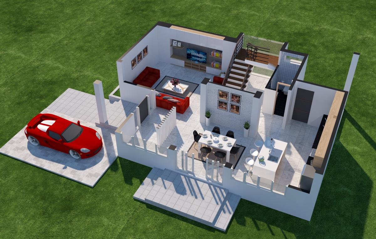 طراحی سه بعدی ساختمان